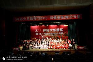2015广州健美操赛